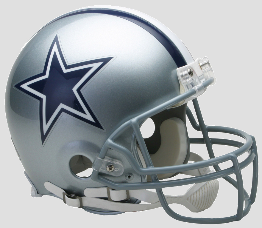 Dallas Cowboys Football Helmet
