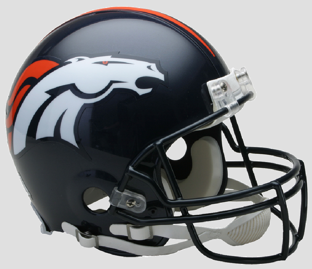 Denver Broncos Football Helmet