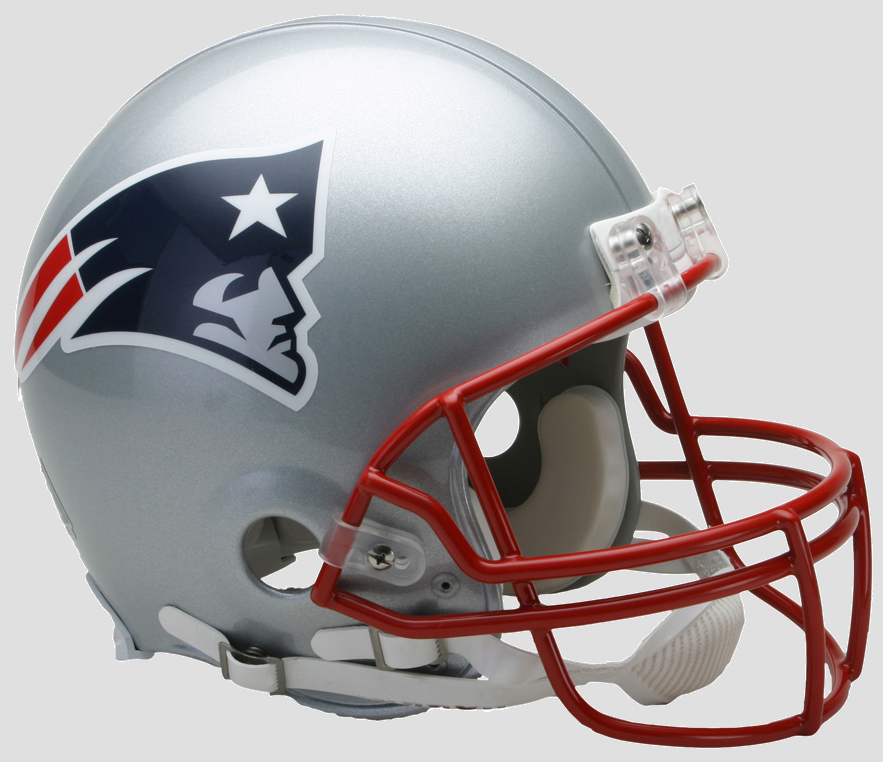 New England Patriots Football Helmet
