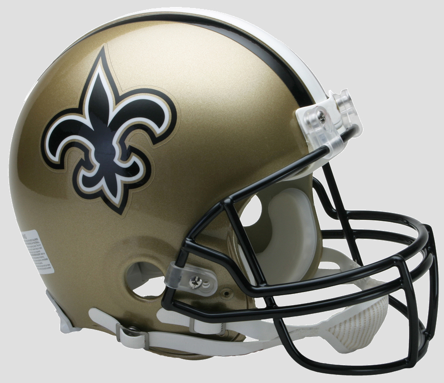 New Orleans Saints Football Helmet