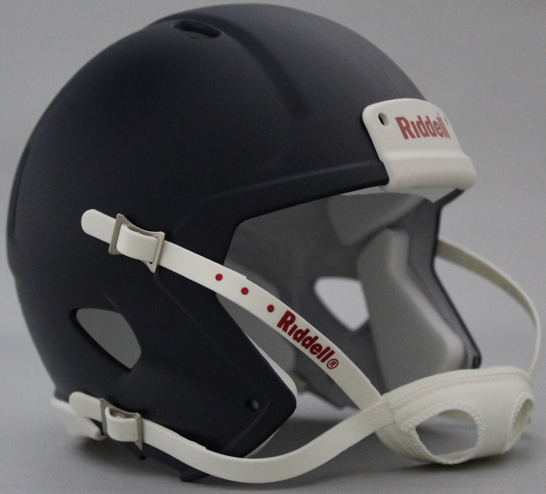 Mini Speed Football Helmet SHELL Matte Navy Blue