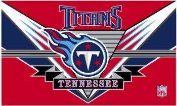 Tennessee Titans Endzone Flag