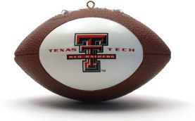 Texas Tech Red Raiders Ornaments Football