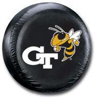 Georgia Tech Yellow Tire Cover <B>BLOWOUT SALE</B>