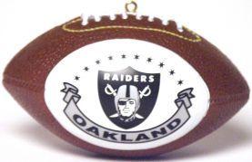 Oakland Raiders Ornaments Football