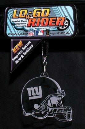 New York Giants Low-Go Rider Helmet <B>BLOWOUT SALE</B>