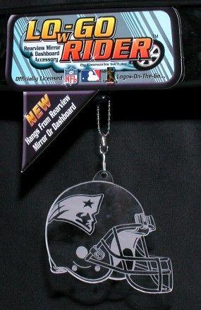 New England Patriots Low-Go Rider Helmet <B>BLOWOUT SALE</B>
