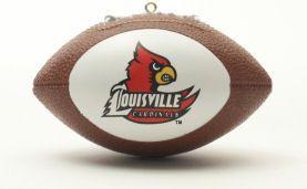 Louisville Cardinals Ornaments Football