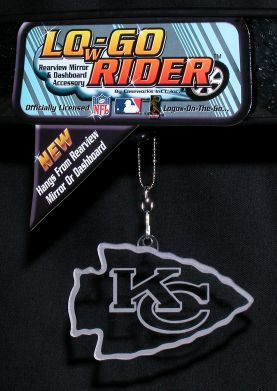 Kansas City Chiefs Low-Go Rider Team Logo <B>BLOWOUT SALE</B>