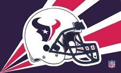 Houston Texans Helmet Flag <B>BLOWOUT SALE</B>