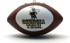 Georgia Tech Yellow Jackets Ornaments Football