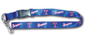 Texas Rangers MLB Lanyard