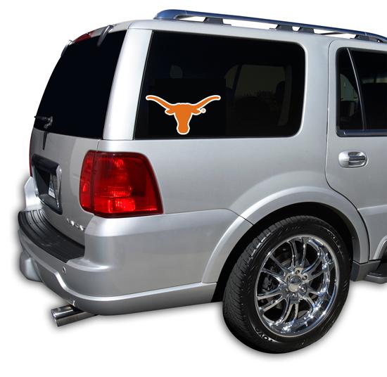Texas Longhorns Window Decal