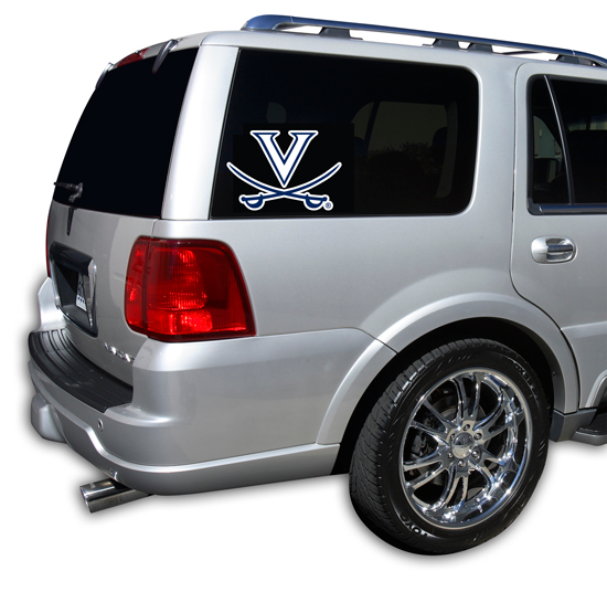 Virginia Cavaliers Window Decal