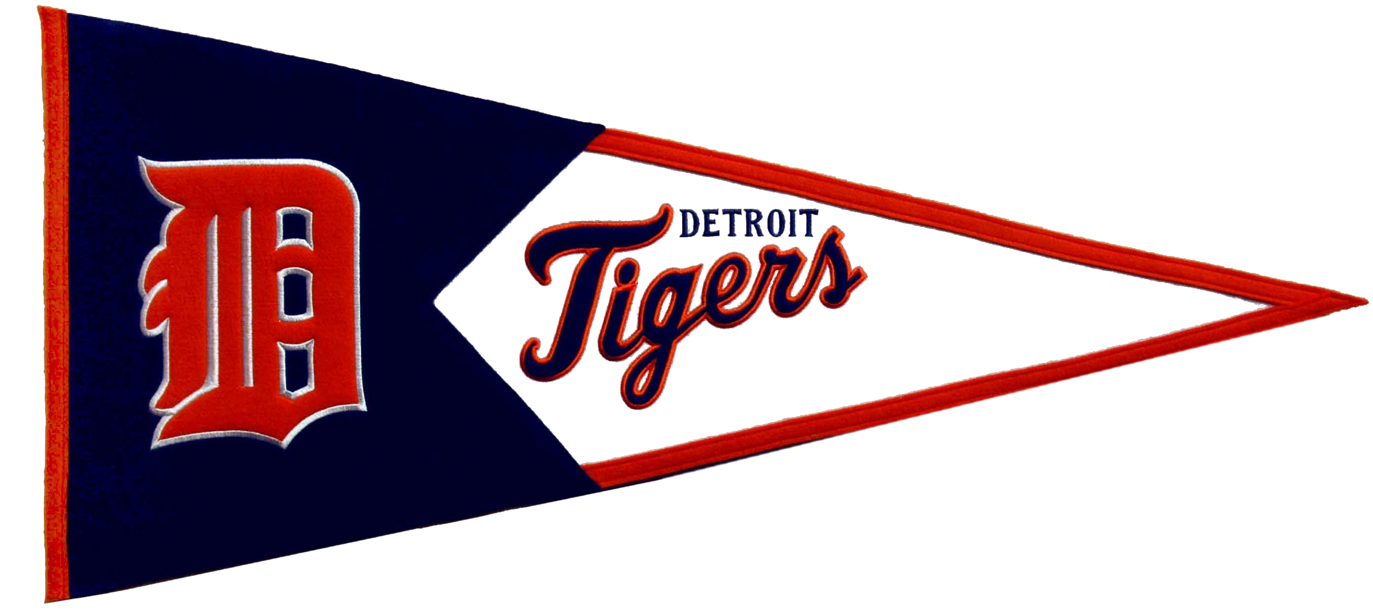 Detroit Tigers MLB Pennant Wool