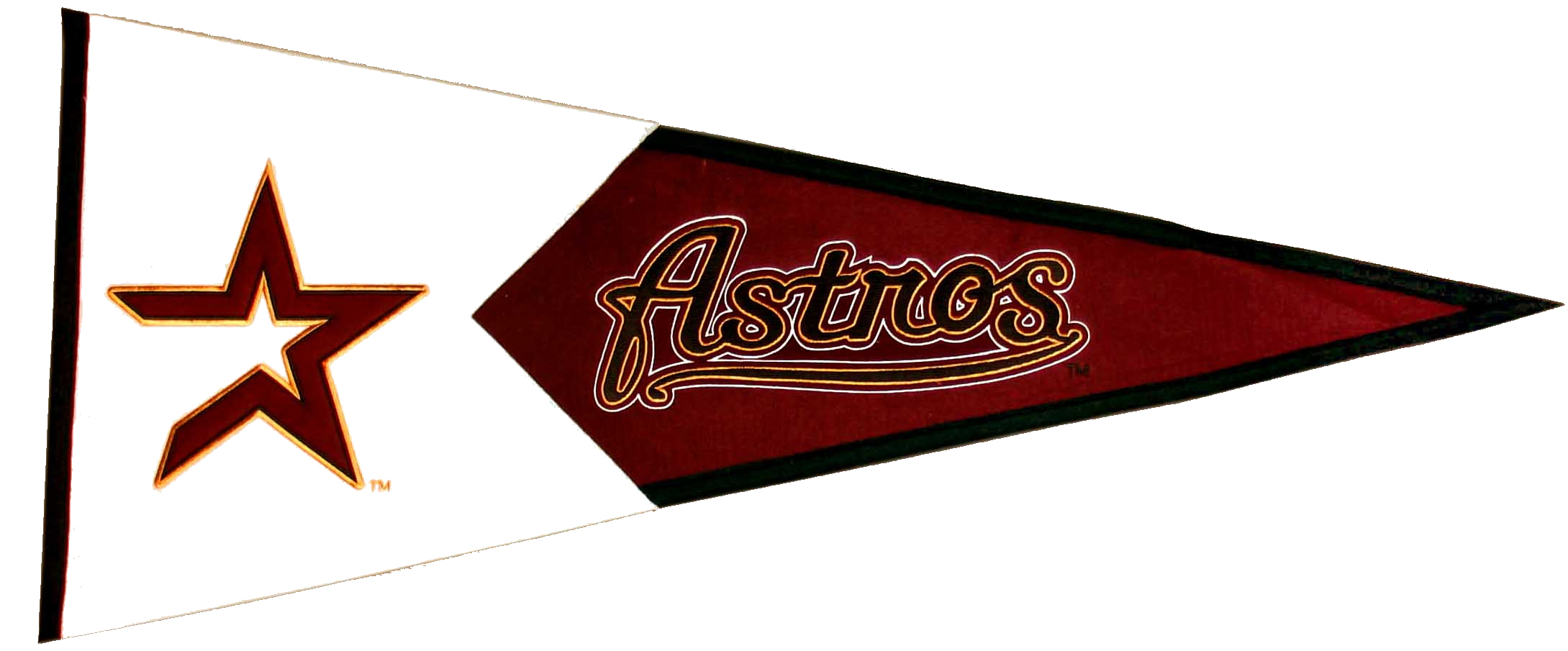 Houston Astros MLB Pennant Wool