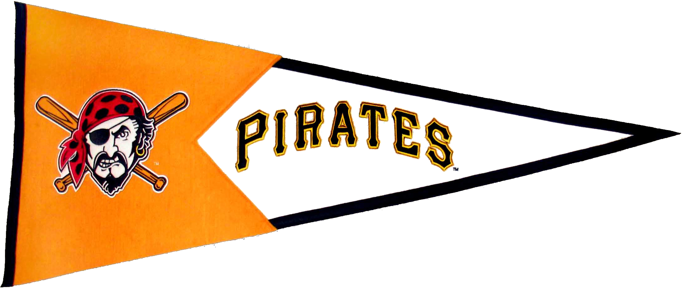 Pittsburgh Pirates MLB Pennant Wool