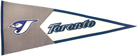 Toronto Blue Jays MLB Pennant Wool