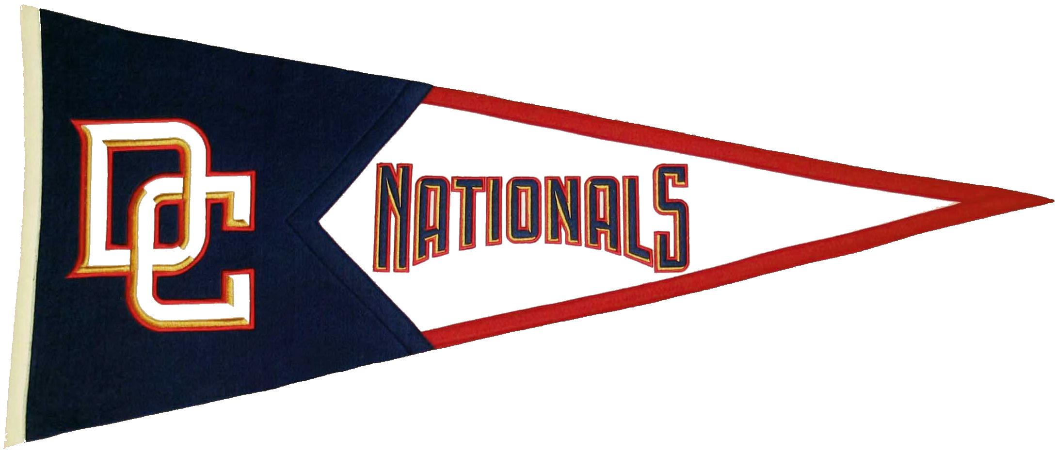 Washington Nationals MLB Pennant Wool