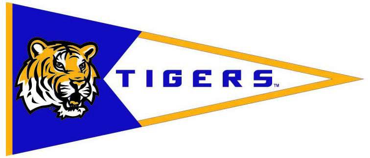LSU Tigers NCAA Pennant Wool
