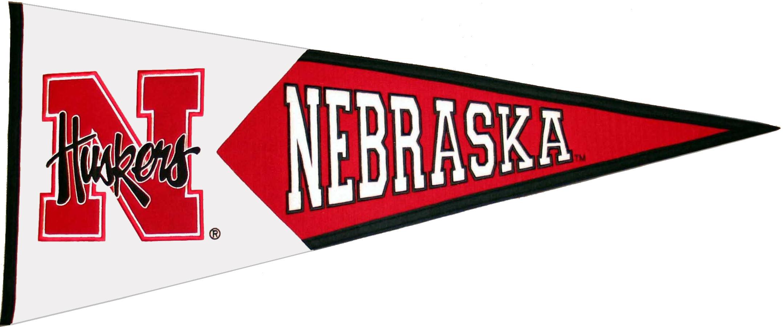 Nebraska Cornhuskers NCAA Pennant Wool