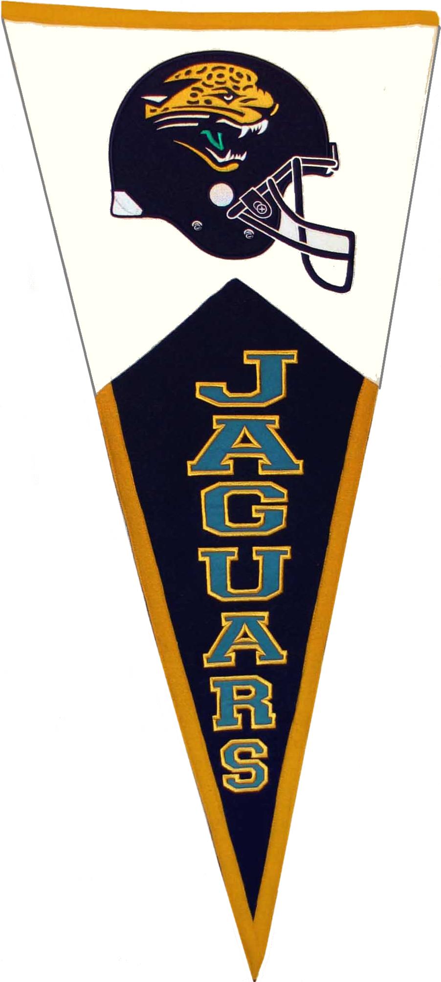 Jacksonville Jaguars NFL Pennant Wool