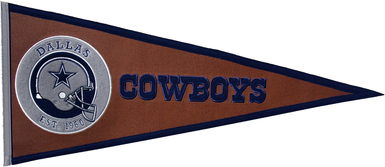 Dallas Cowboys Pennant Leather
