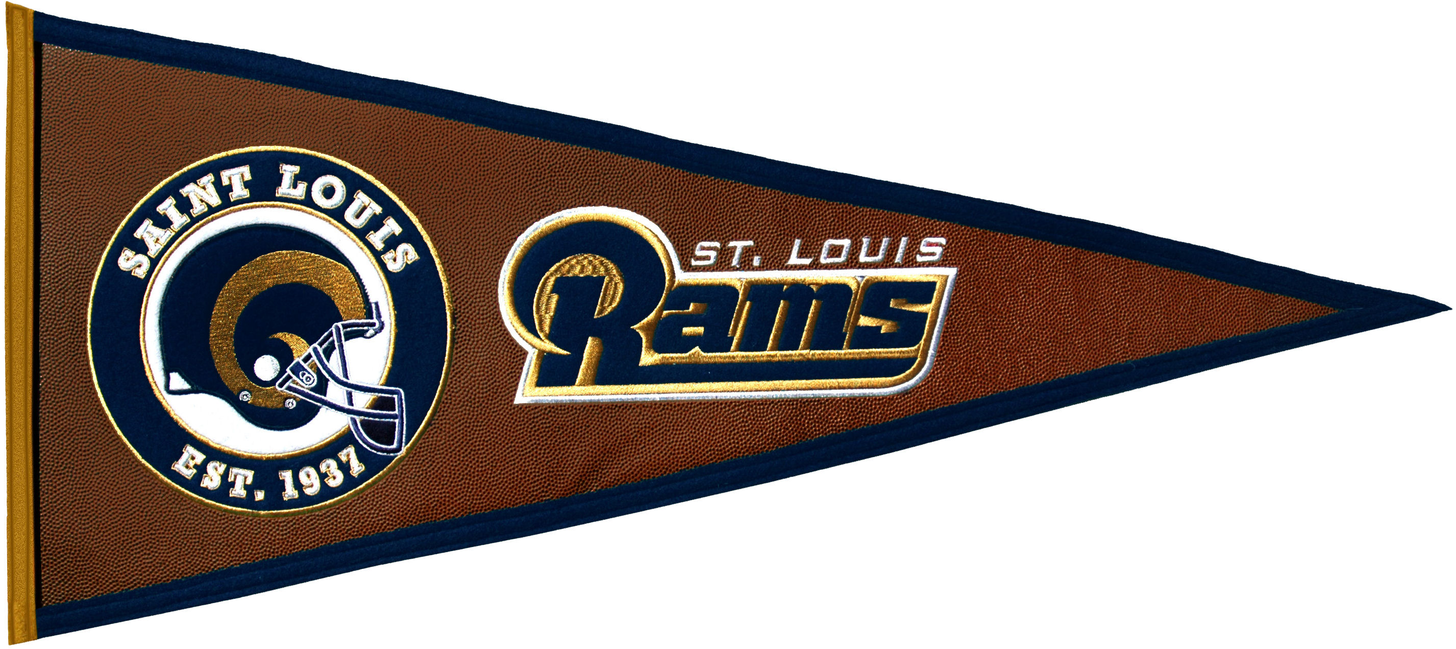 St. Louis Rams Pennant Leather