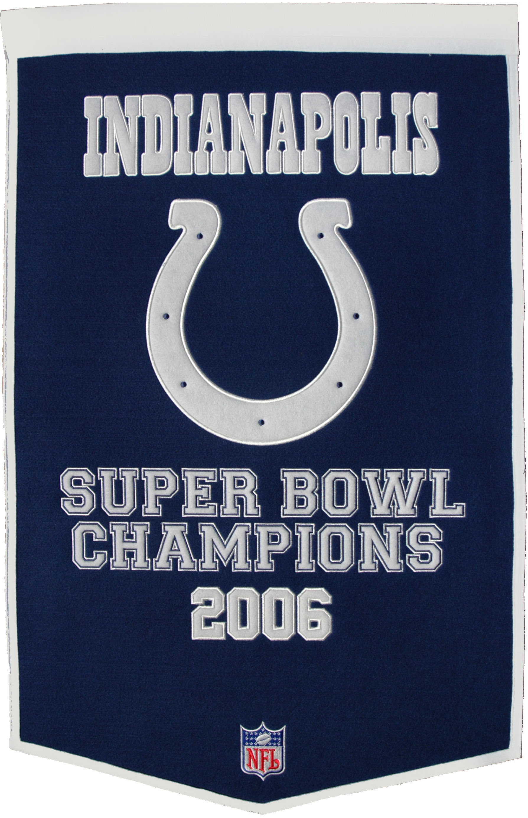 Indianapolis Colts Banner Wool Dynasty