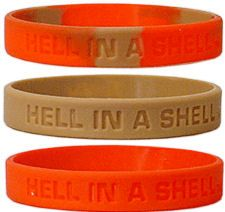 Maryland Terrapins Rubber Wristbands 3 Pack