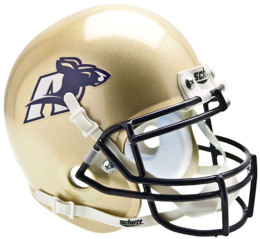 Akron Zips Mini XP Authentic Helmet Schutt