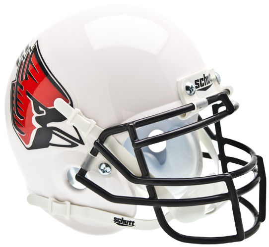 Ball State Cardinals Mini XP Authentic Helmet Schutt