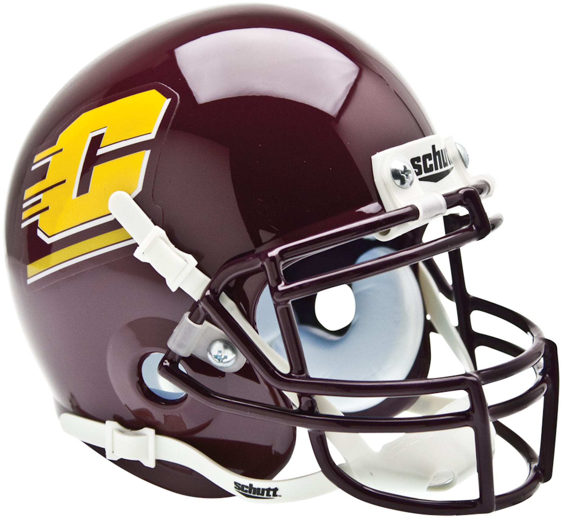 Central Michigan Chippewas Mini XP Authentic Helmet Schutt