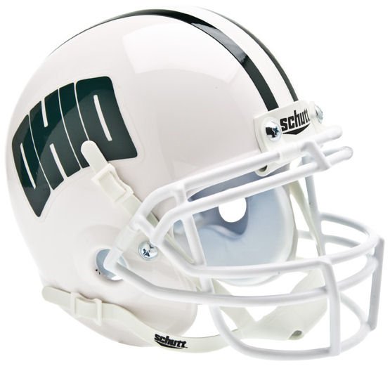 Ohio Bobcats Mini XP Authentic Helmet Schutt