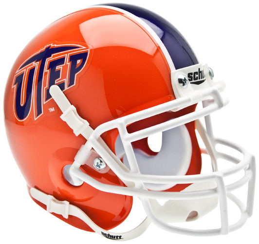 UTEP Miners Mini XP Authentic Helmet Schutt