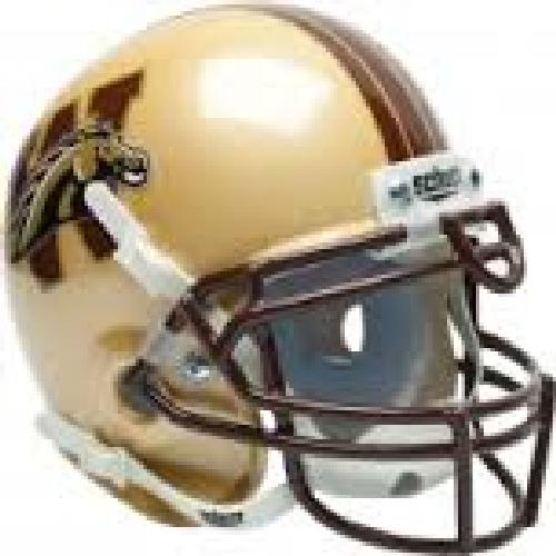 Western Michigan Broncos Mini XP Authentic Helmet Schutt