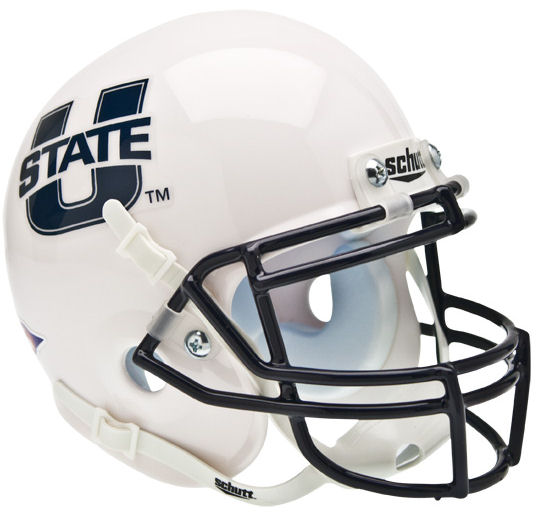 Utah State Aggies Mini XP Authentic Helmet Schutt