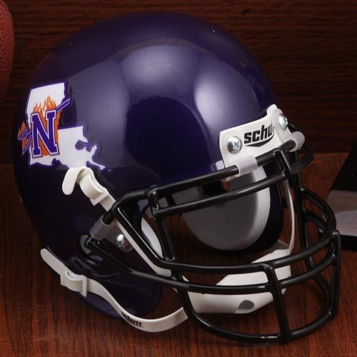 Northwestern State Demons Miniature Football Helmet Desk Caddy