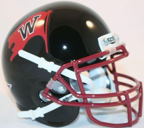 Whitworth Pirates Mini Authentic Helmet Schutt