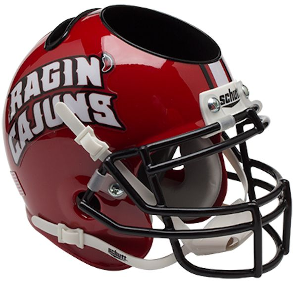 Louisiana (Lafayette) Ragin Cajuns Miniature Football Helmet Desk Caddy