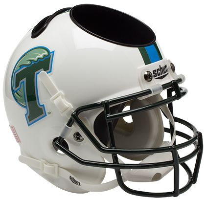 Tulane Green Wave Miniature Football Helmet Desk Caddy