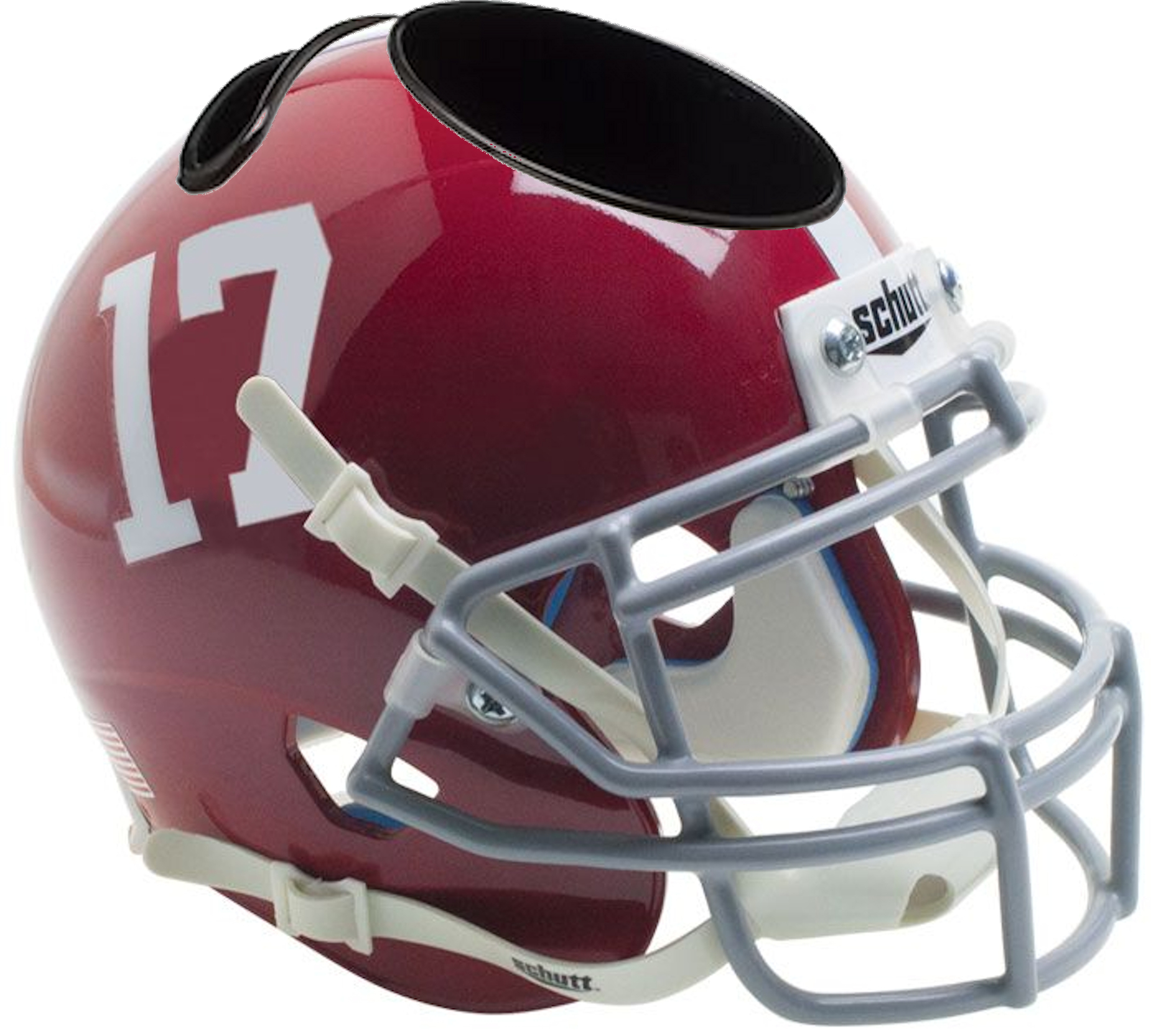 Alabama Crimson Tide Mini Football Helmet Desk Caddy #17