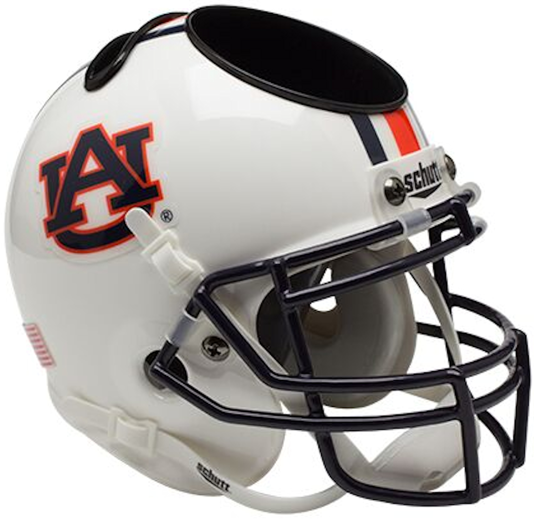 Auburn Tigers Miniature Football Helmet Desk Caddy