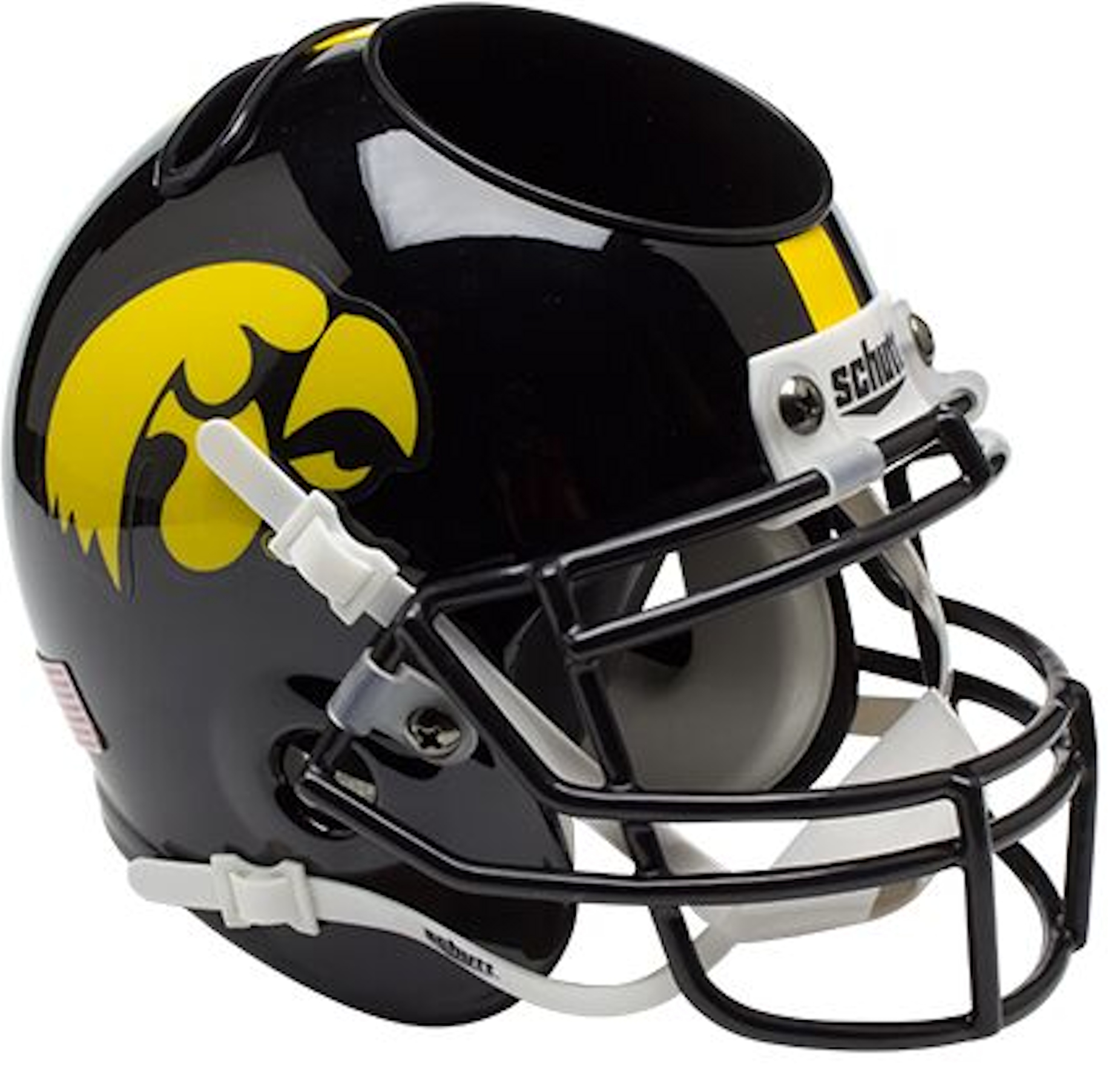 Iowa Hawkeyes Miniature Football Helmet Desk Caddy