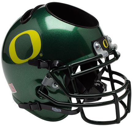 Oregon Ducks Miniature Football Helmet Desk Caddy