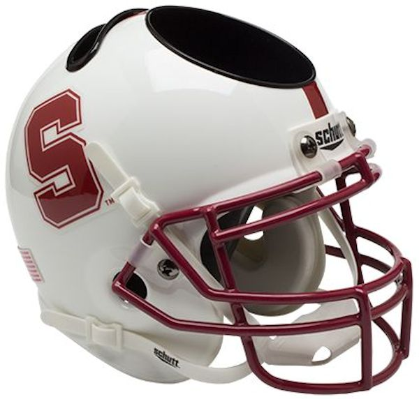 Stanford Cardinal Miniature Football Helmet Desk Caddy