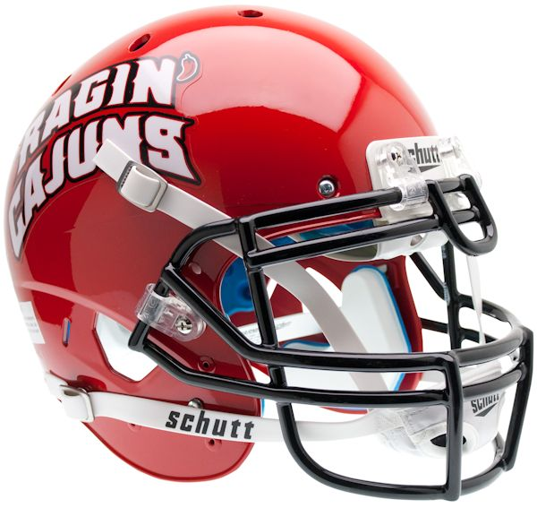 Louisiana (Lafayette) Ragin Cajuns Authentic College XP Football Helmet Schutt
