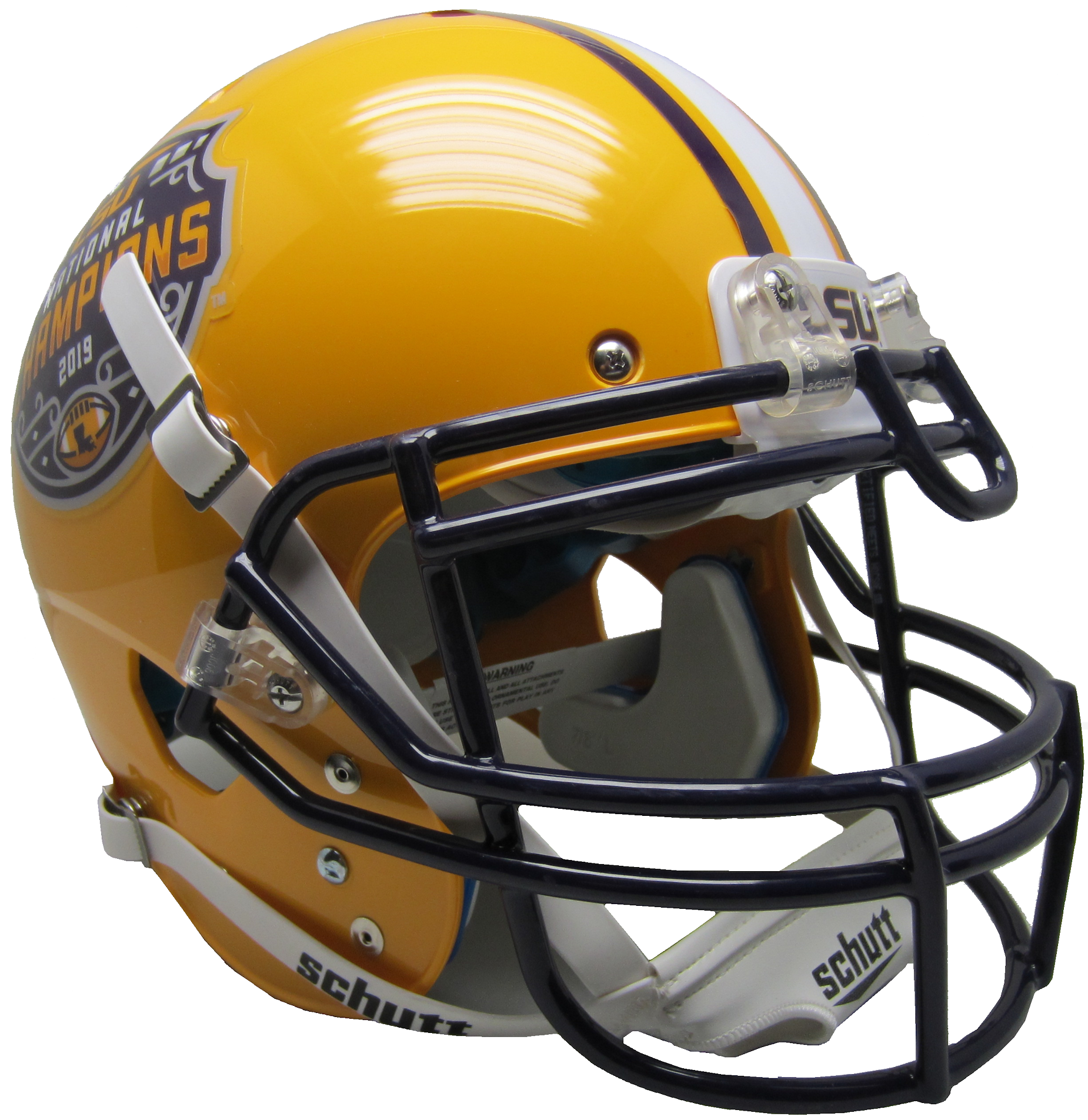 LSU Tigers Authentic College XP Football Helmet Schutt <B>2019 National Champions</B>