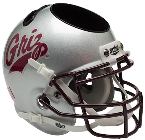 Montana Grizzlies Miniature Football Helmet Desk Caddy