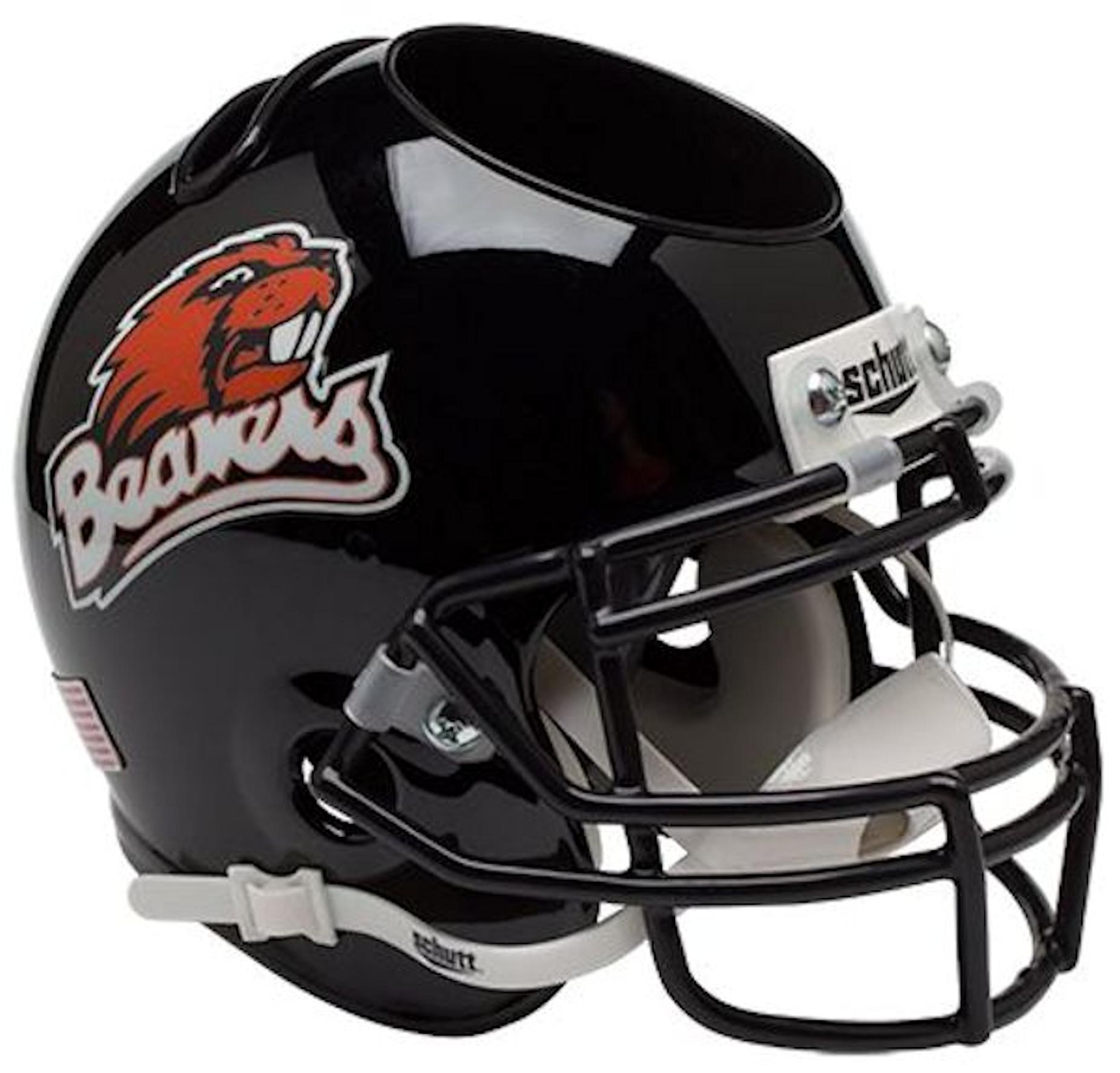 Oregon State Beavers Miniature Football Helmet Desk Caddy
